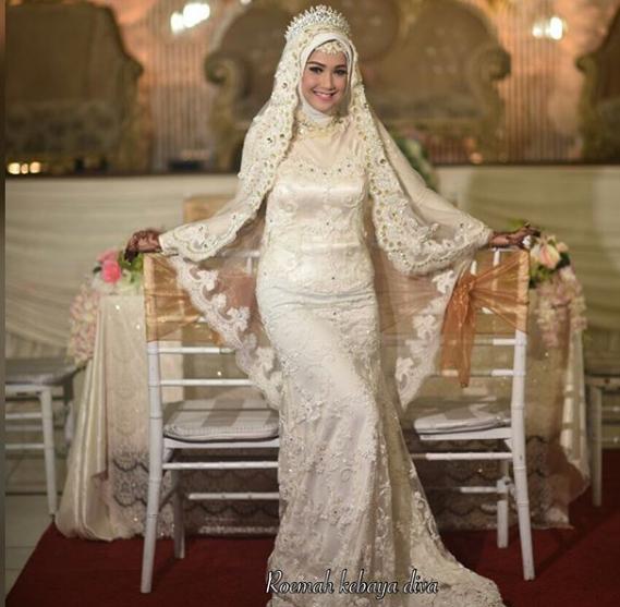 47 Model Baju Pengantin Muslim 2018 Desain Elegan Cantik Http