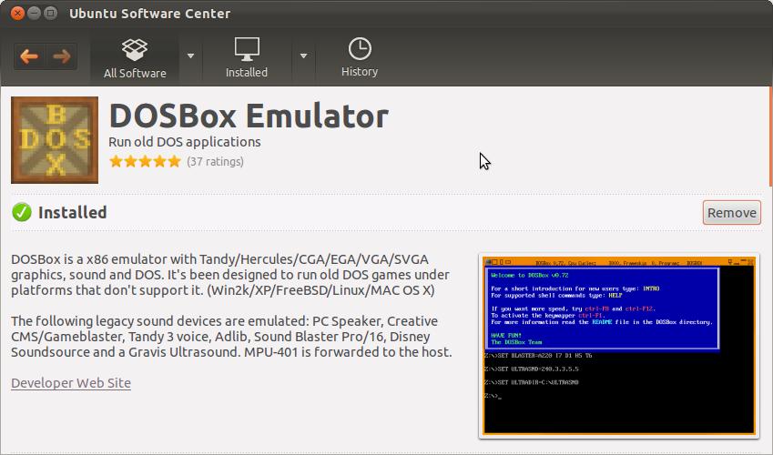 Ubuntu Blog: How to run Trubo C/C++ in Ubuntu using DOSBox Emulator