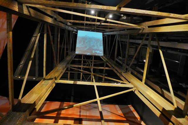 Astillero en la exposición del Museo del Titanic en Belfast