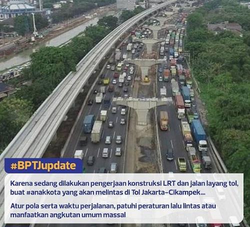 Kamcetan Tol Jakarta - Cikampek