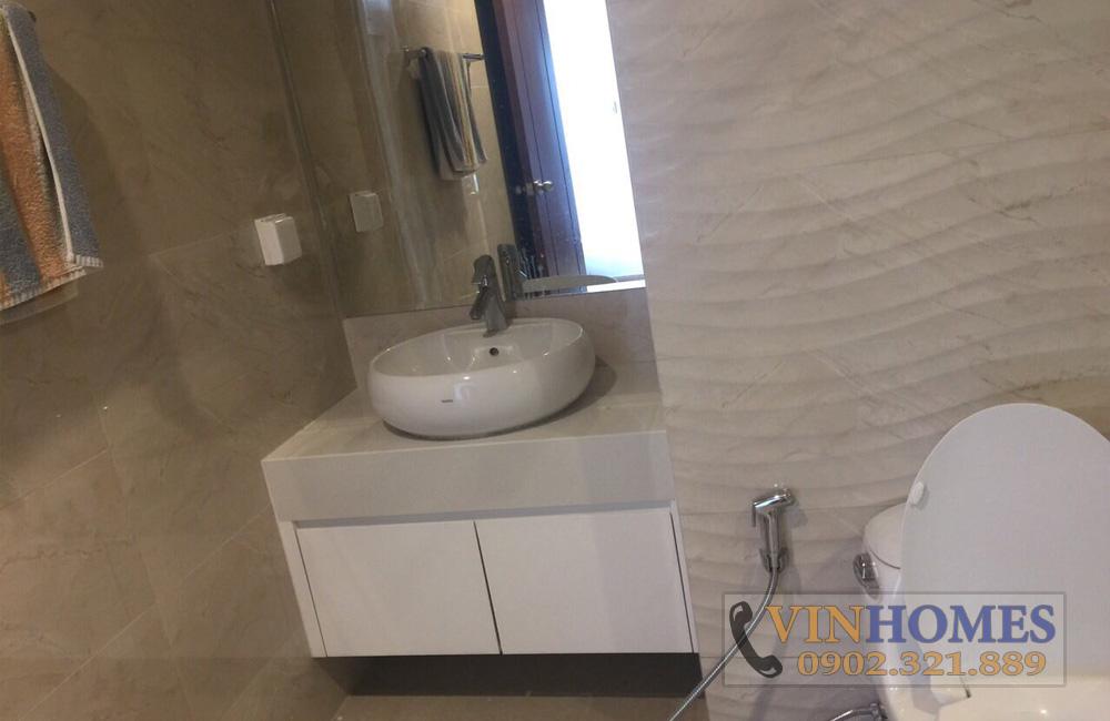 Bán căn hộ 3PN tòa nhà The Central 3 - lavabo rửa mặt