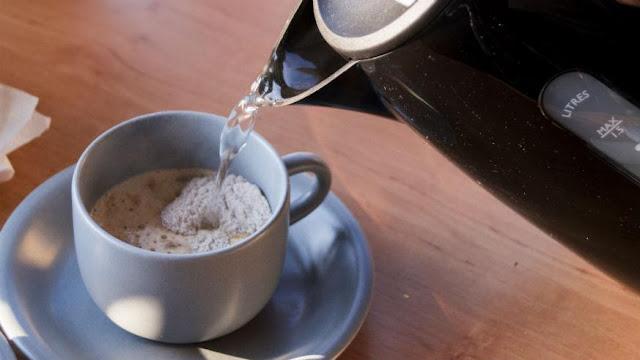 kopi, jamur, kuliner, sehat, minuman