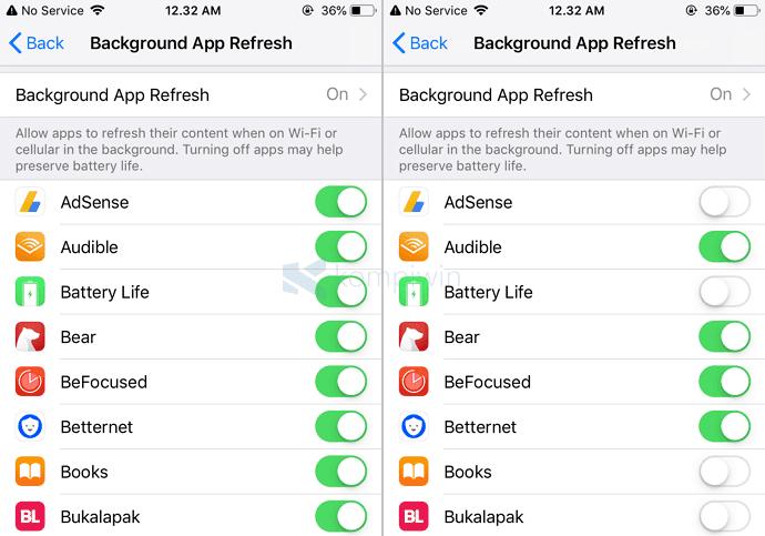 11 Cara Hemat Baterai iPhone yang Boros/Cepat Habis 2