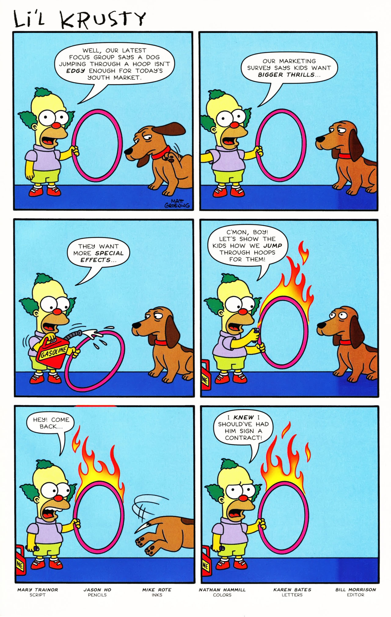 Read online Simpsons Comics Presents Bart Simpson comic -  Issue #49 - 27