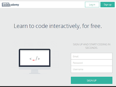 Codecademy offers interactive courses focusing on programming, CSS, Java and HTML