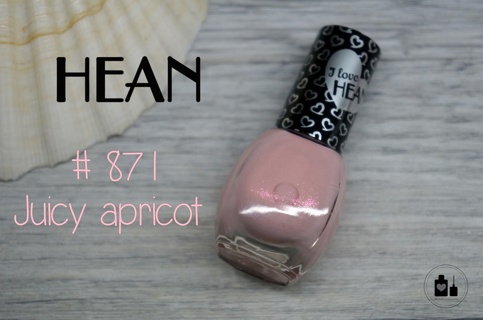 Hean  # 871 Juicy apricot, czyli soczysta morelka na codzień.