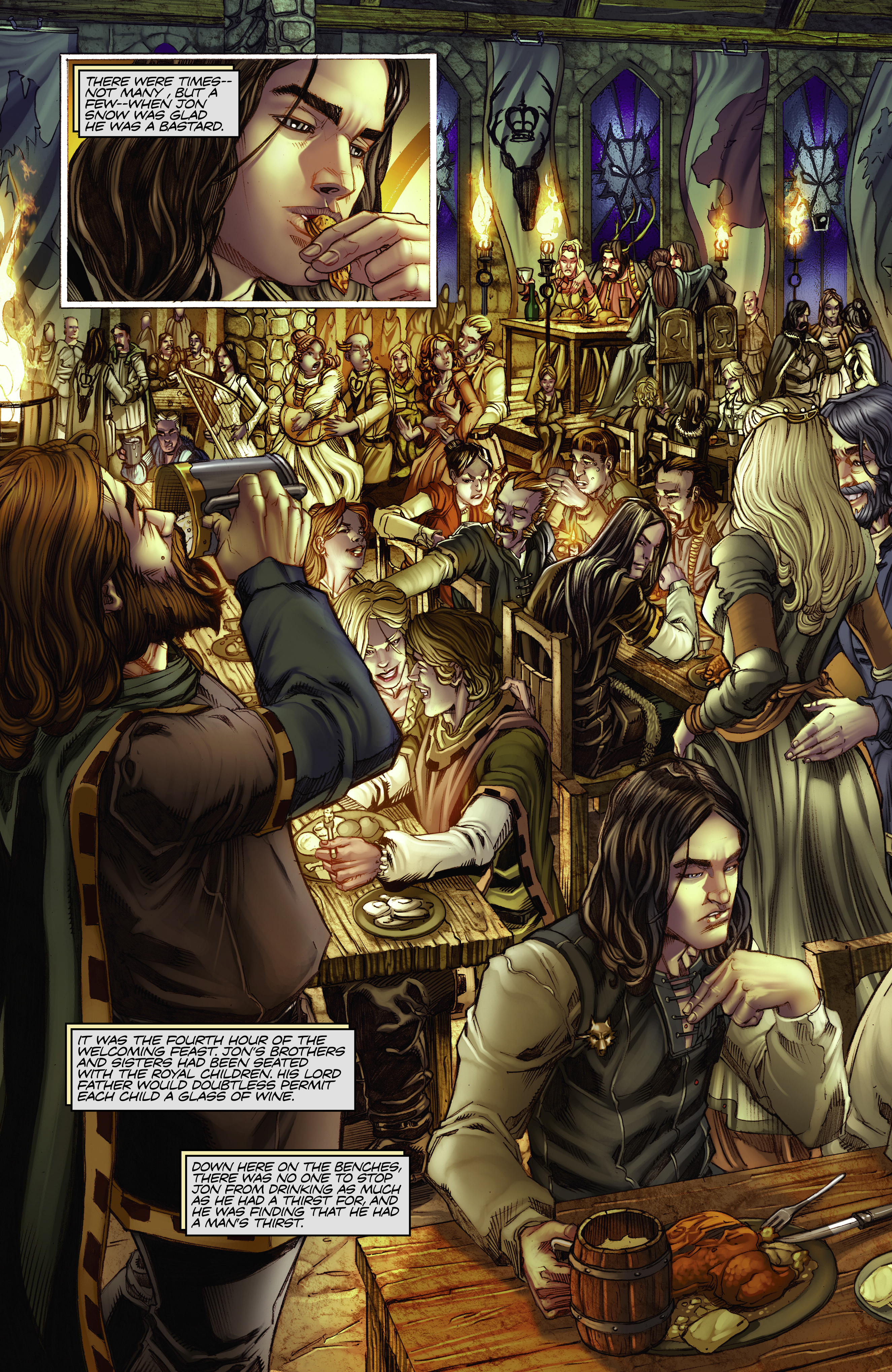 Read online A Game Of Thrones comic -  Issue #2 - 12
