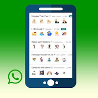 Cara Menambahkan Stiker di DELTA YOWA WhatsApp