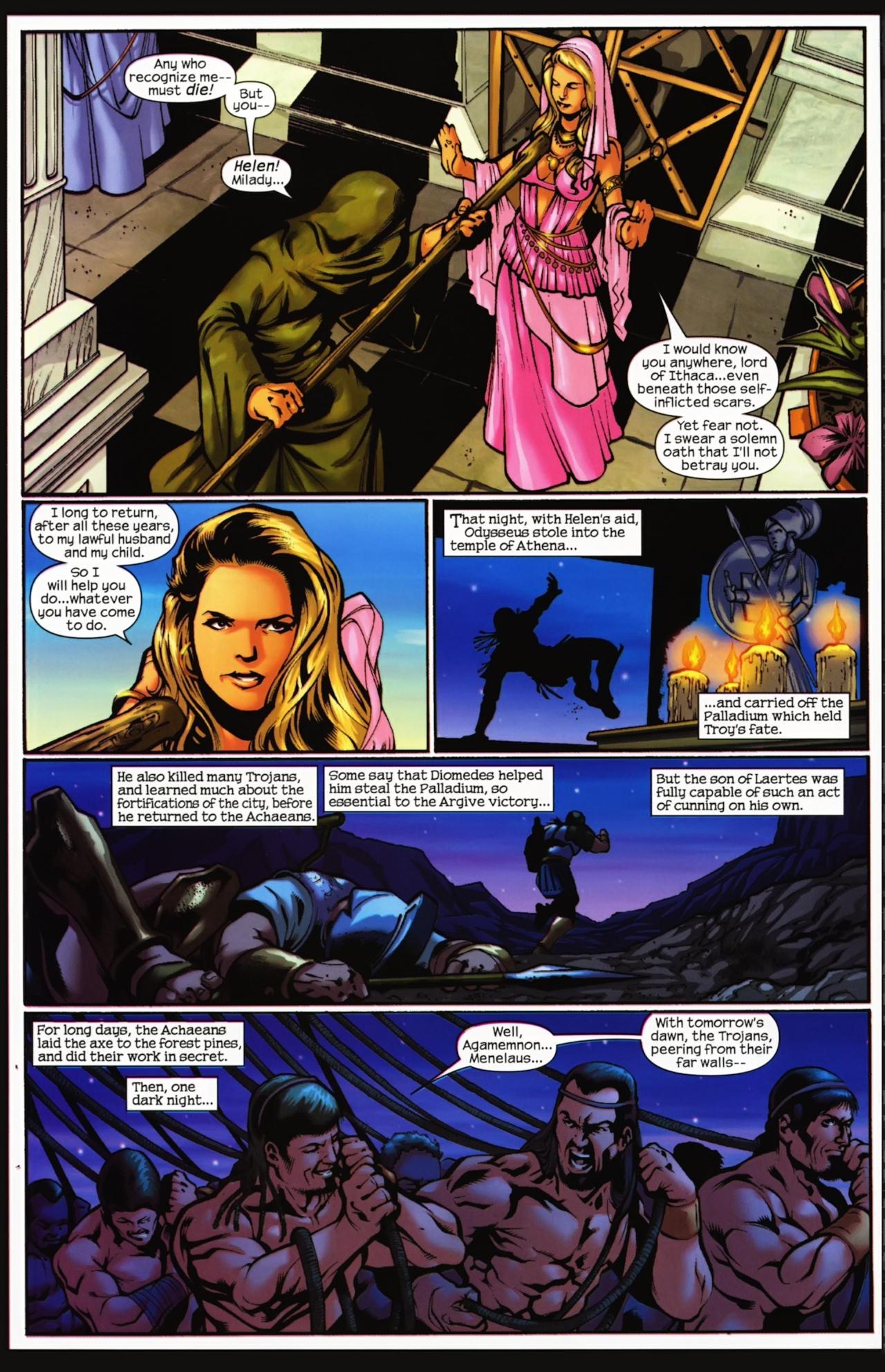 Read online Trojan War comic -  Issue #4 - 29