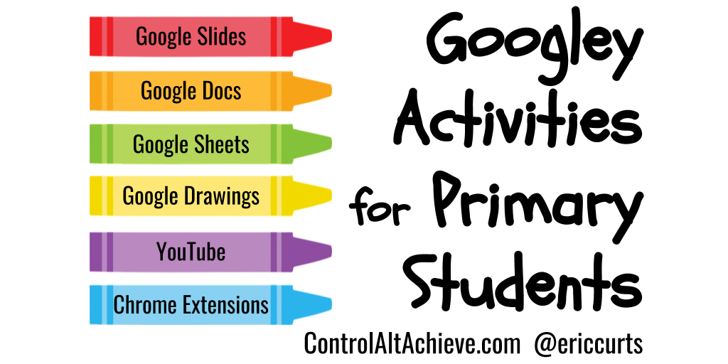 Googley Activities and Tools for Primary Students