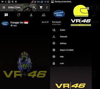 Tema BBM - BBM VR46 v2.12.0.11 APK