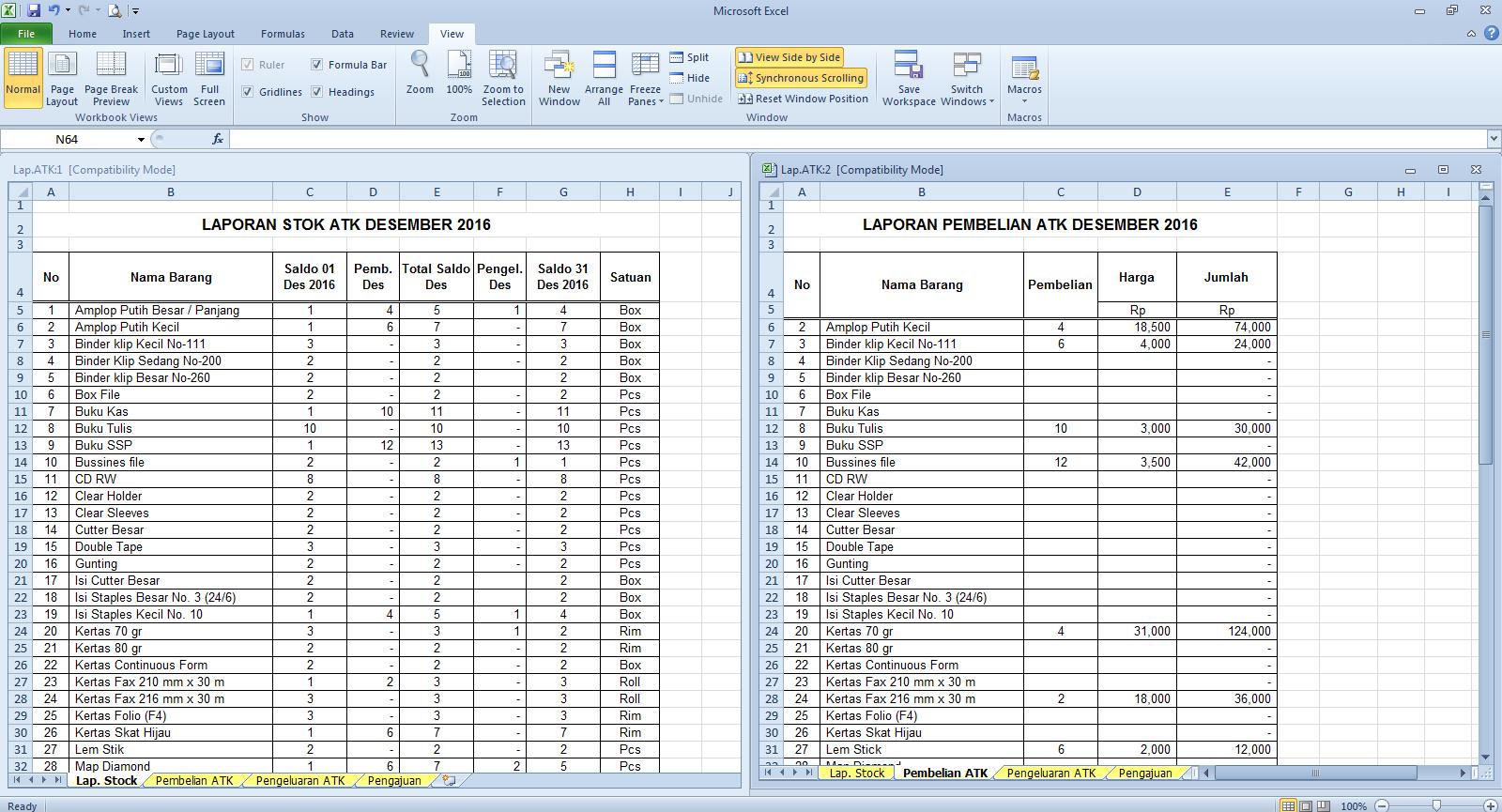 Cara Menampilkan Dua Sheet Dalam Satu File Excel Cari2 Cara