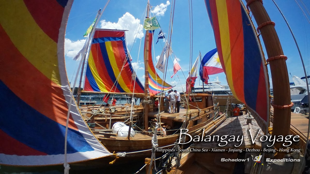 Balangay Voyage - Schadow1 Expeditions