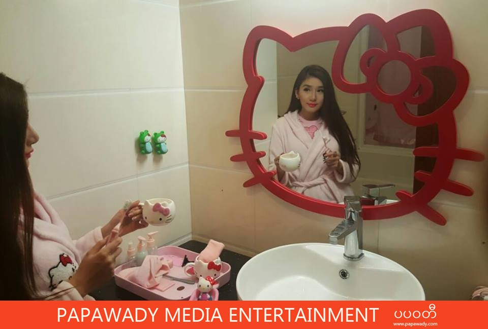 Nansu Yati Soe and Valentine's Day With Hello Kitty Theme