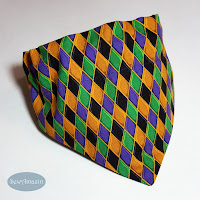 Mardi Gras Dog Bandanas and Scrunchie Ruffles