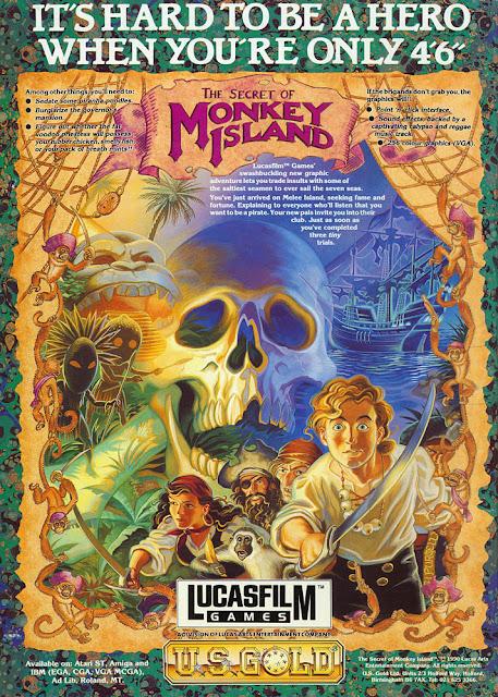Monkey Island ad