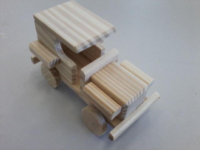 carrinho de madeira como fazer