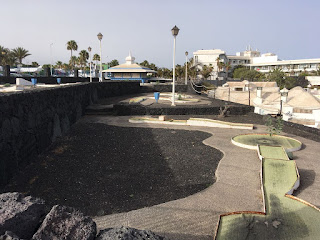 Minigolf San Antonio in Lanzarote. Photo by Les Tubby, July 2018