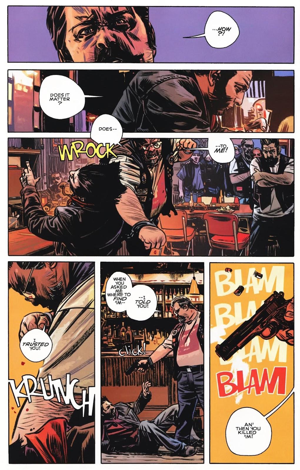 Read online Wolverine (2003) comic -  Issue #74 - 7