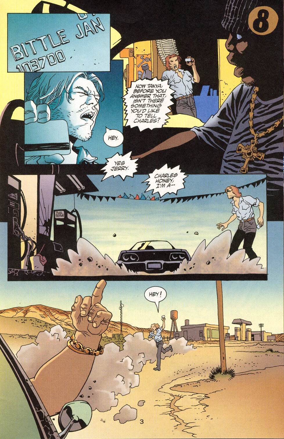 Read online 100 Bullets comic -  Issue #28 - 5