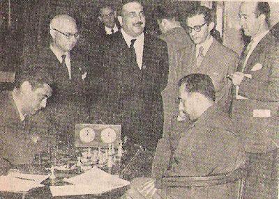 Partida Lladó-Torán del Campeonato de España de Ajedrez 1957