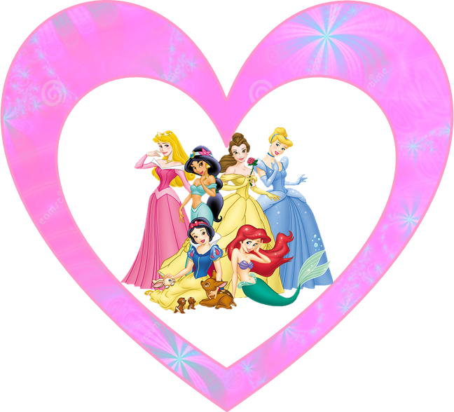 Princesas Disney: Mini Kit para Imprimir Gratis.
