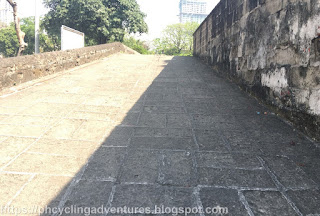 Intramuros Wall Ramp