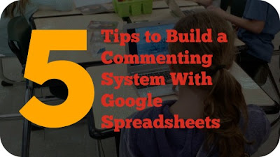 Build a Commenting system With These 5 Spreadsheet Tips