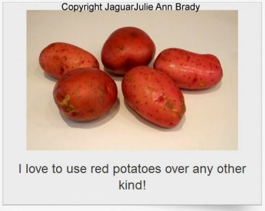 step two ramp and red potatoes recipe