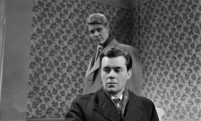 James Fox and Dirk Bogarde