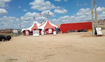 Bandidos assaltam circo na cidade de Salgueiro – PE