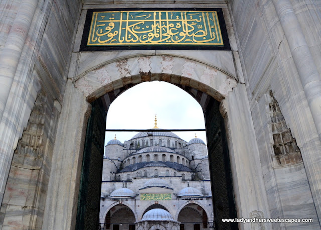 Blue Mosque entrance