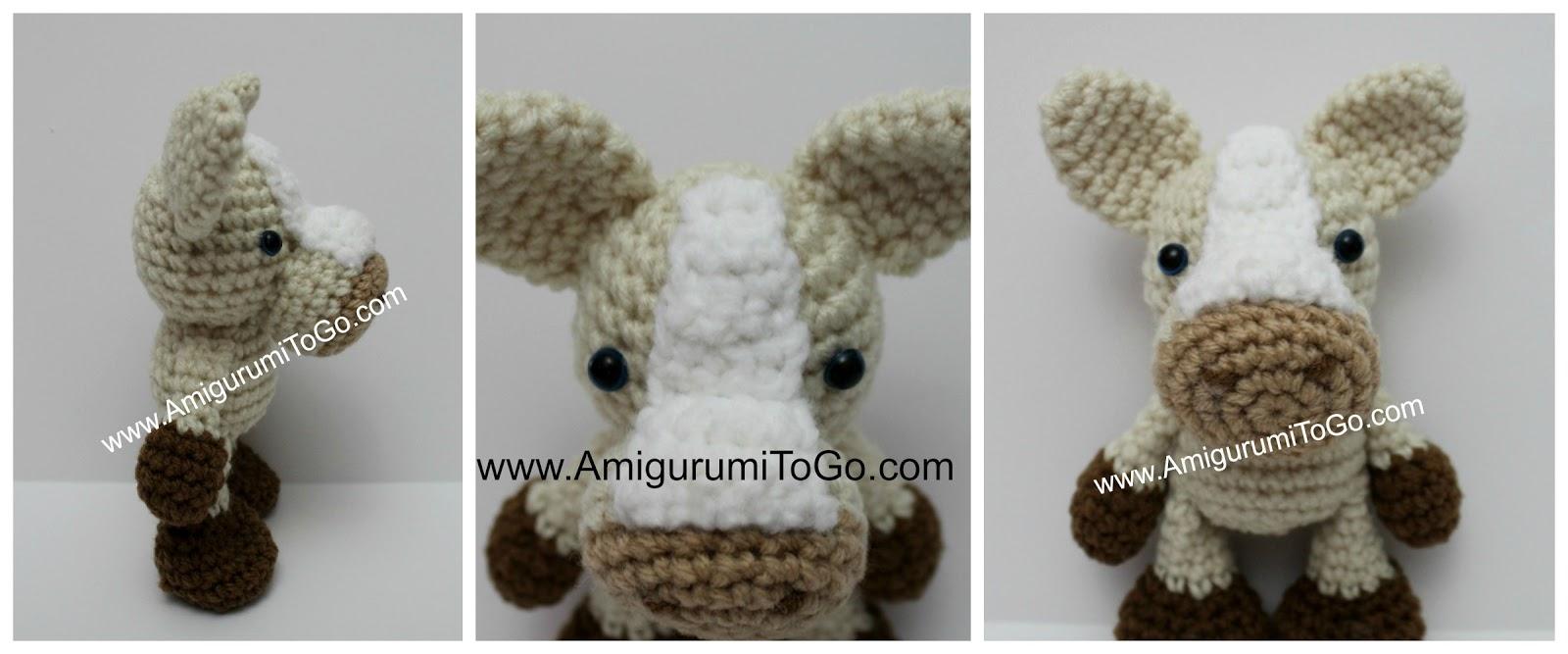 Amigurumi Horse Ears : S mores the horse amigurumi to go
