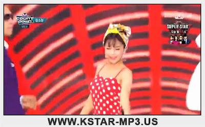 [Performance] Kim So Jung - Dance Music @ M! Countdown 2015.08.27