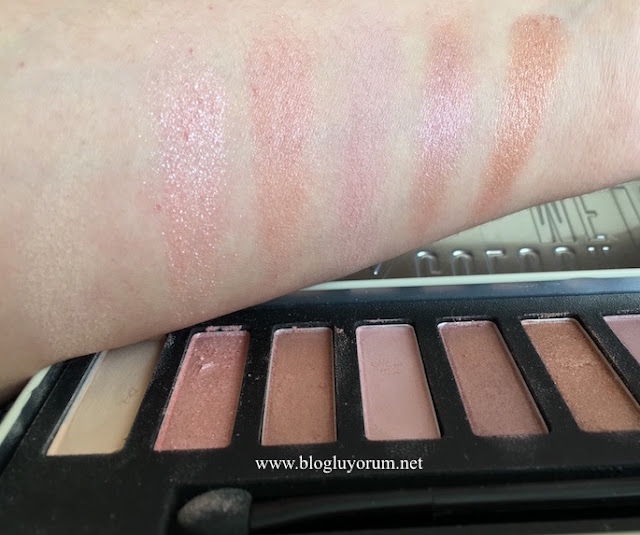 w7 in the nude colour me nude eye colours palette ilk 6lı swatch