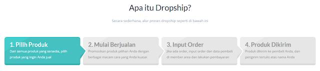 Ilustrasi Dropship