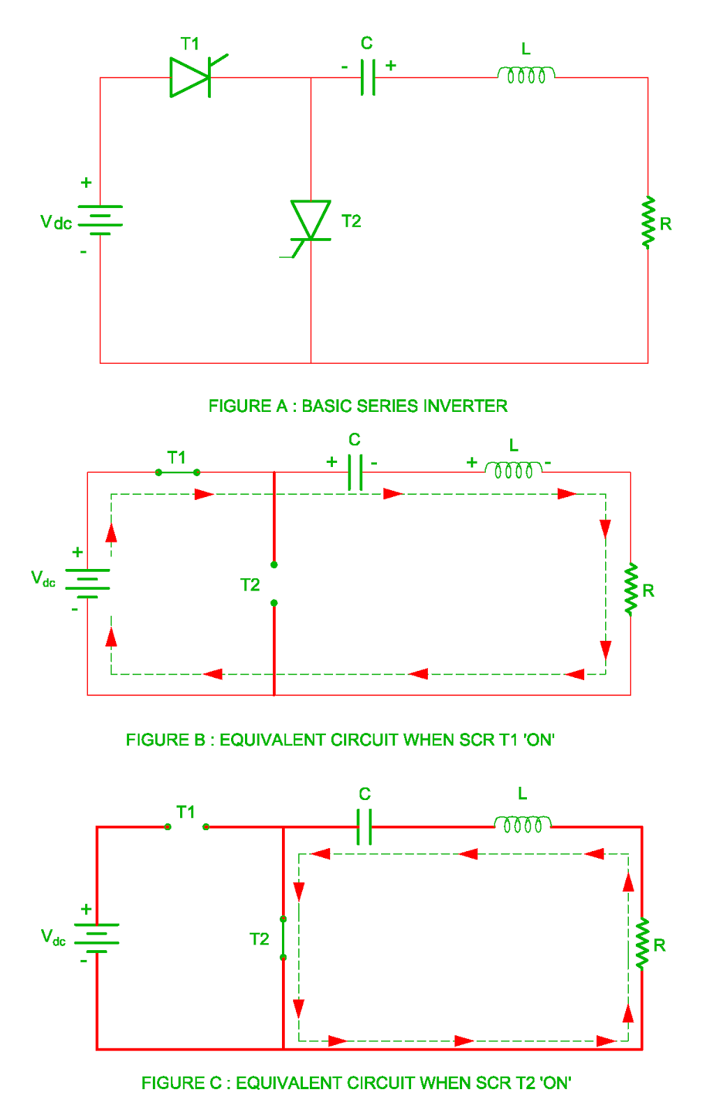 Series Inverter Load Commutated Or Self Scr Wiring Diagram Working Of Basic