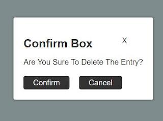 Cara Mudah Membuat Konfirmasi Delete Dengan Javascript