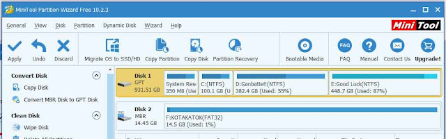 cara convert gpt ke mbr tanpa hilang data