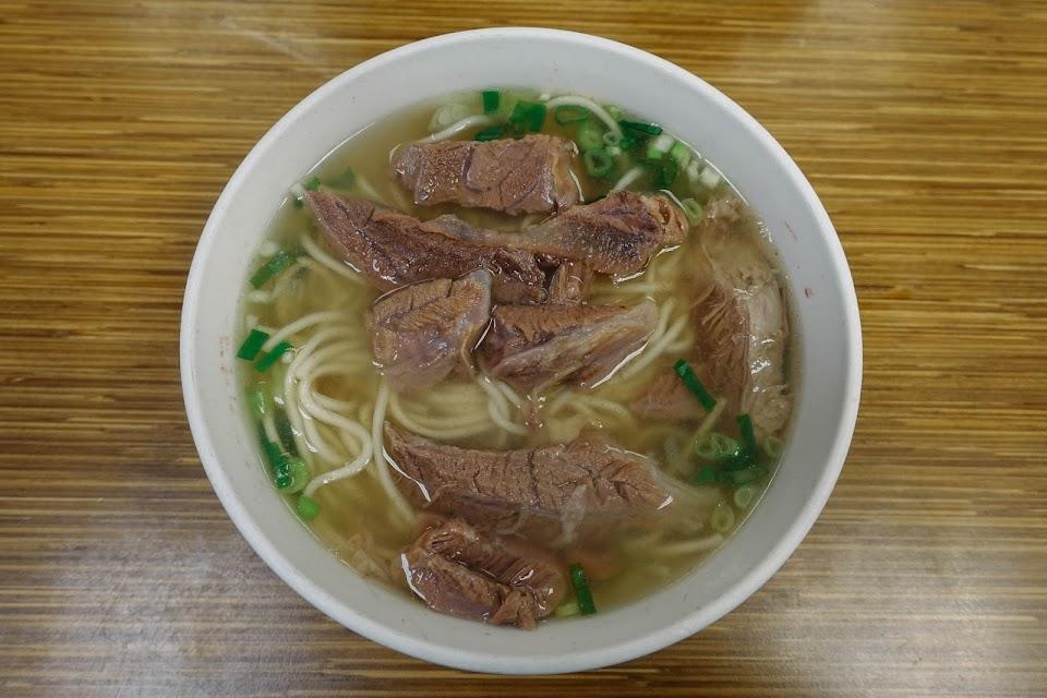 清燉半筋半肉麺
