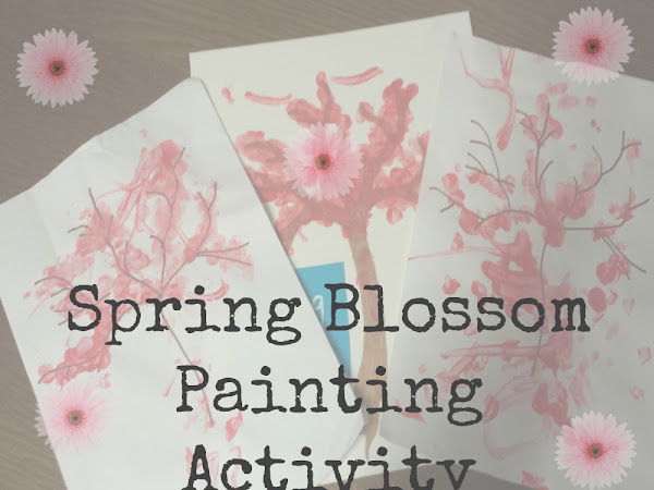 Spring Blossom Painting Activity