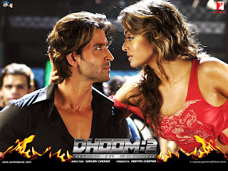 Aishwaya And Hrithik Romancing Picture