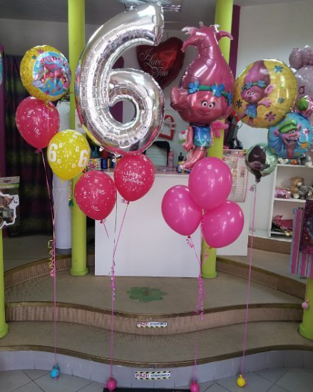 101 fiestas decora con globos metalizados - Decora con globos ...