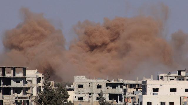 Israel vuelve a atacar posiciones militares sirias en respuesta a un nuevo proyectil