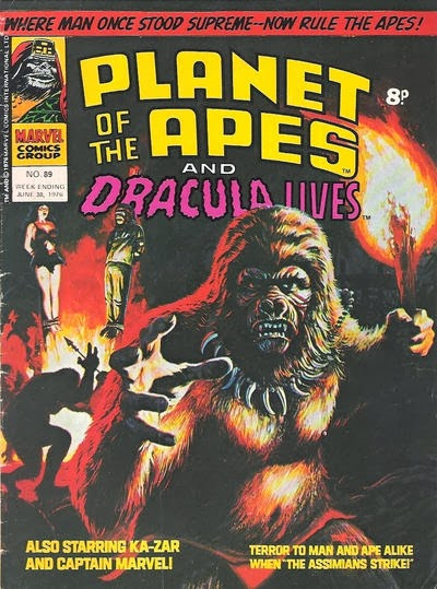 Marvel UK Planet of the Apes #89