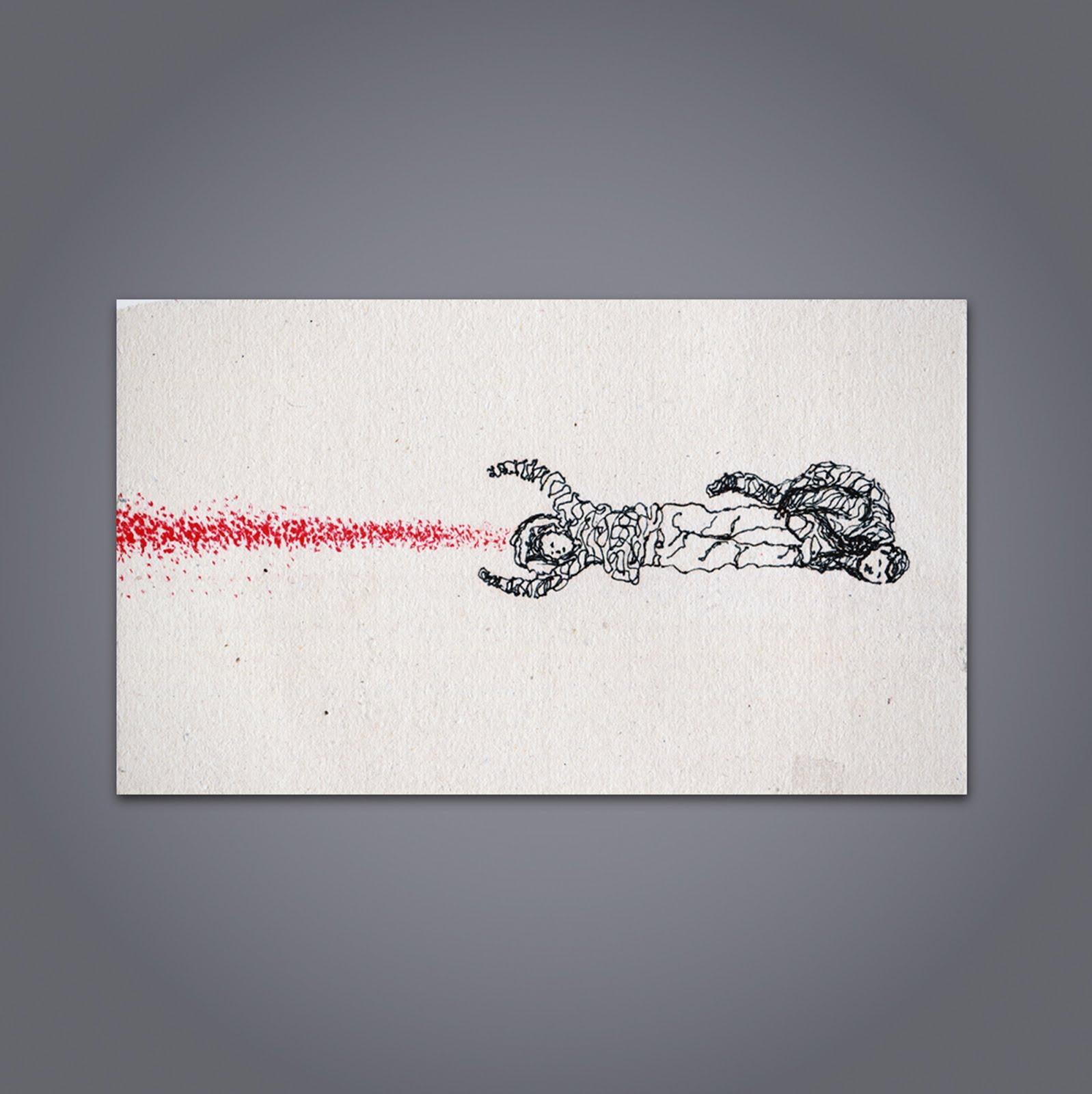 Ilustración creada por Pelayo Rodríguez sobre la serie Fargo
