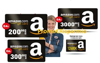 Logo Vinci gratis con Svitol buoni Amazon da 200, 300 e 3.000 euro
