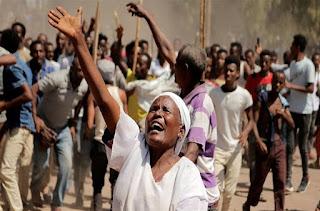 ইথিওপিয়ায় জাতিগত দ্বন্দ্বে ৪০ জনকে হত্যা