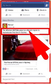How to copy and paste on facebook