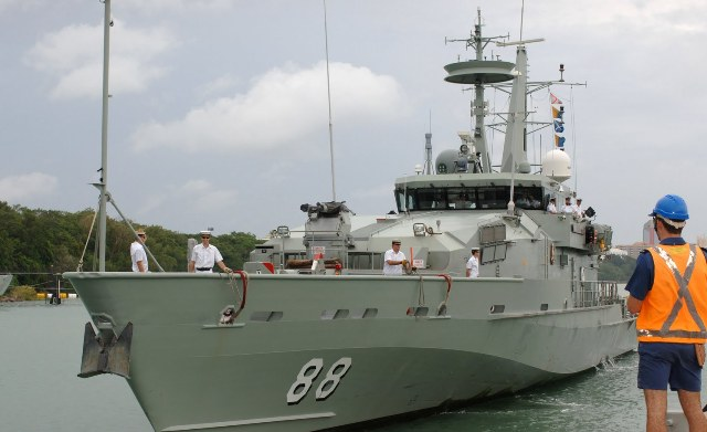 Kapal Australia Selamatkan 4 Nelayan Indonesia di Laut Timor